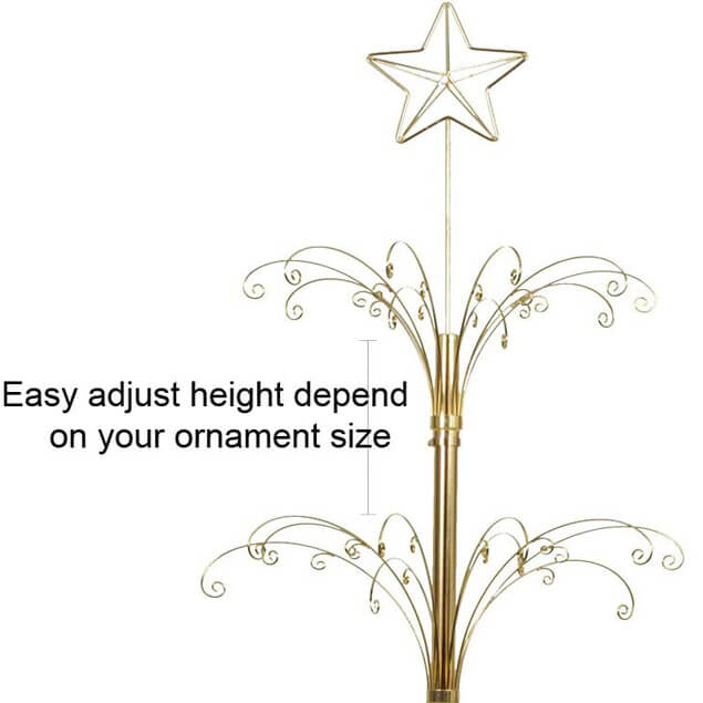 Ornament Display Tree Metal Christmas Stand Large 26002MG4 | Hohiya